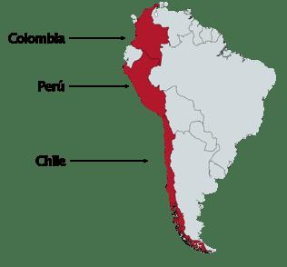 Mapa presencia