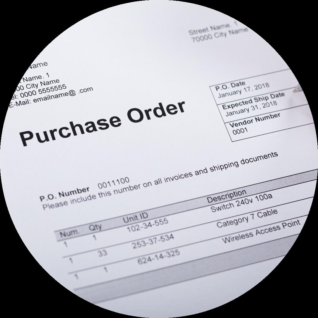 Orden de compra